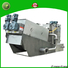 Jinwantong real screw sludge dewatering machine from China for resource recovery