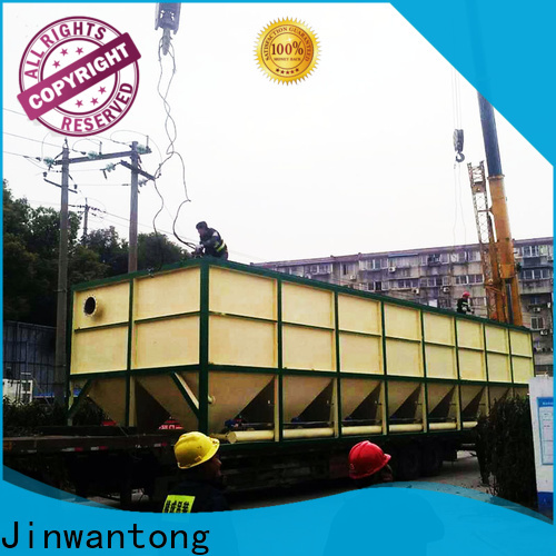 Jinwantong inclined plate clarifier design factory price for chemical waste water