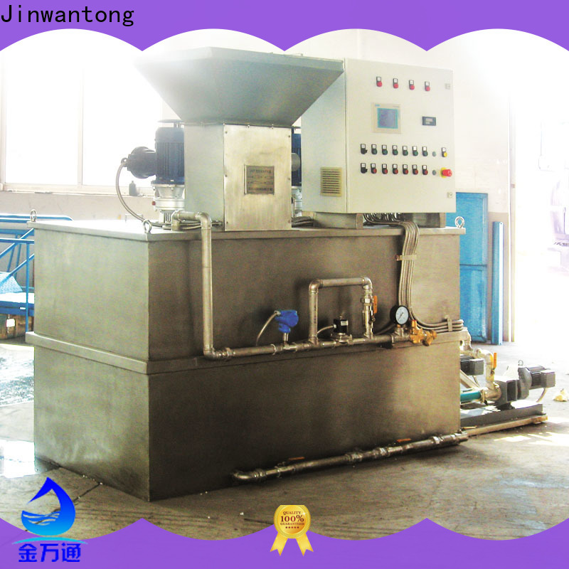 Jinwantong top polymer dosing system factory for mix water and chemicals