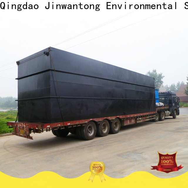 Jinwantong latest sewage treatment plant suppliers for oilfield labor camp