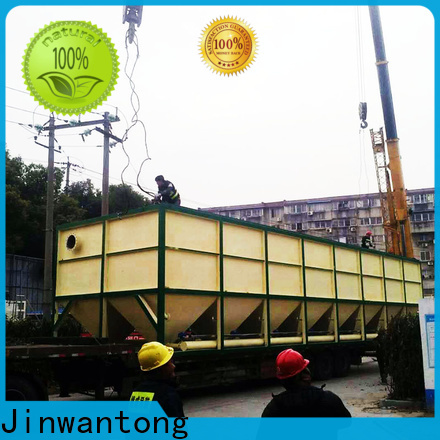 Jinwantong inclined plate clarifier design directly sale for food industry