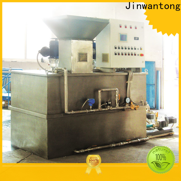 Jinwantong automatic chemical dosing system factory for mix water and chemicals