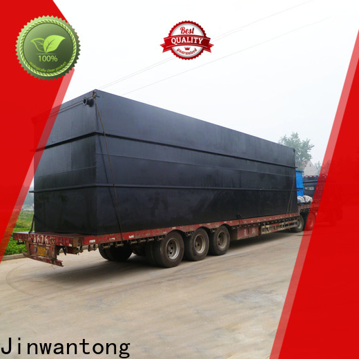 Jinwantong small sewage treatment plant directly sale for hospital