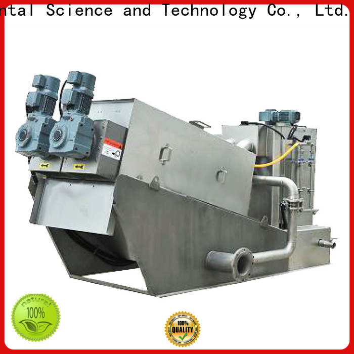 Jinwantong screw sludge dewatering machine factory for resource recovery