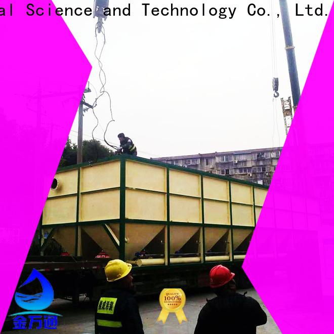 Jinwantong top lamella separator suppliers for chemical waste water