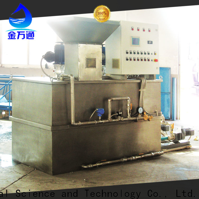 Jinwantong chemical dosing system for water treatment wholesale for mix water and chemicals