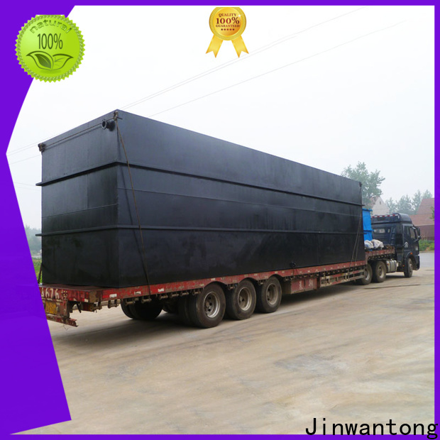 Jinwantong quality package sewage treatment plant series for hotel