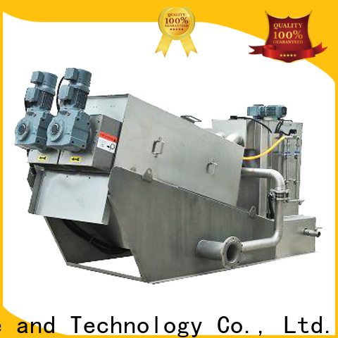 Jinwantong sludge dewatering plant for business for resource recovery