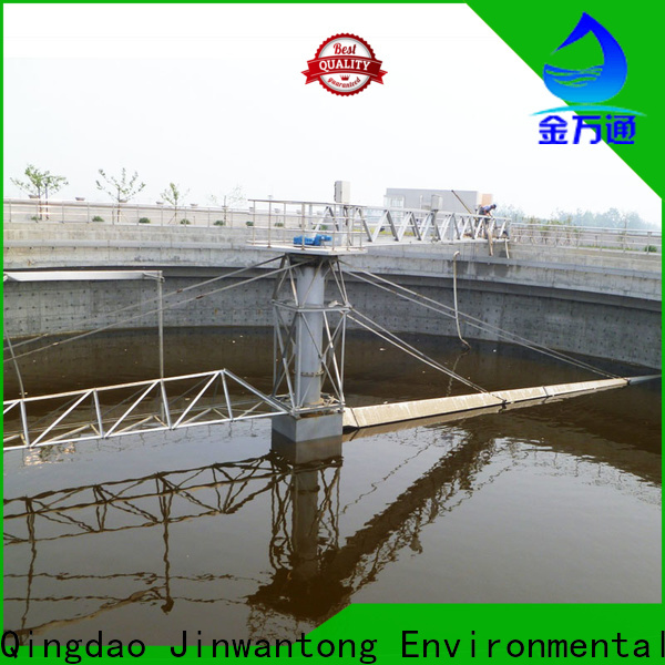 Jinwantong peripheral drive sludge scraper wholesale for final sedimentation tank