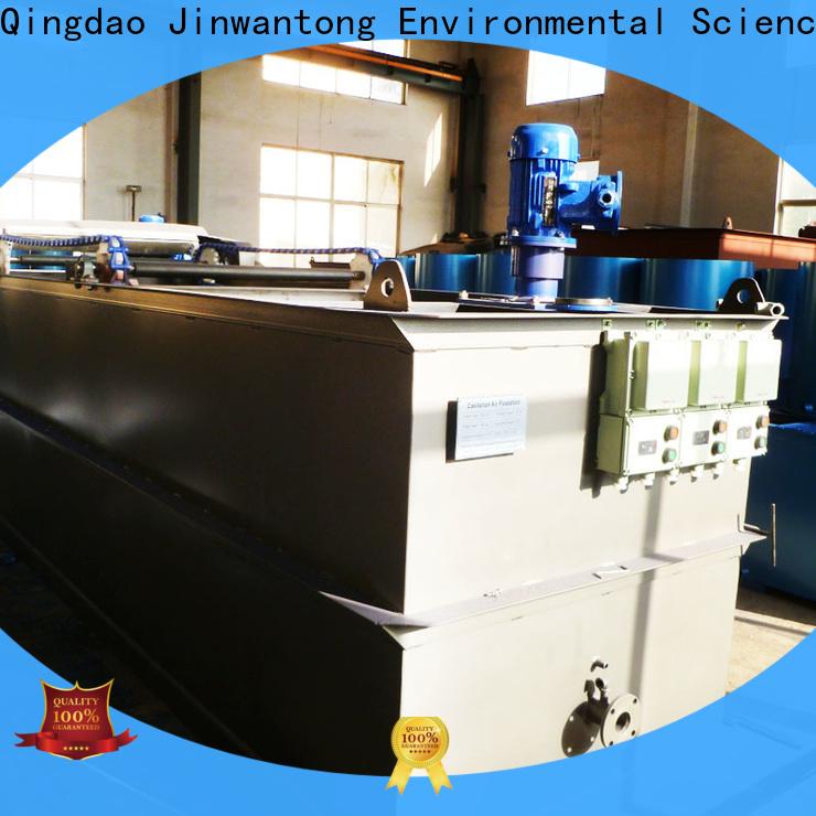 Jinwantong custom caf cavitation air flotation manufacturers for polishing of biological treatment effluent