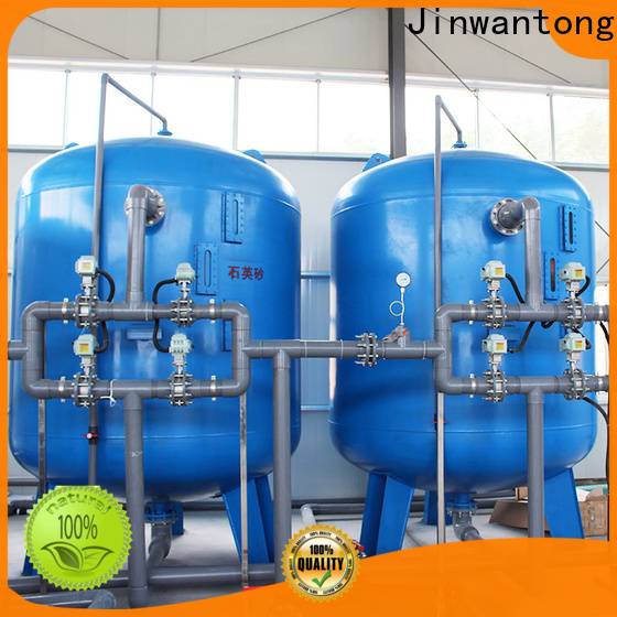 Jinwantong industrial wastewater treatment plant manufacturers customized for alga removal
