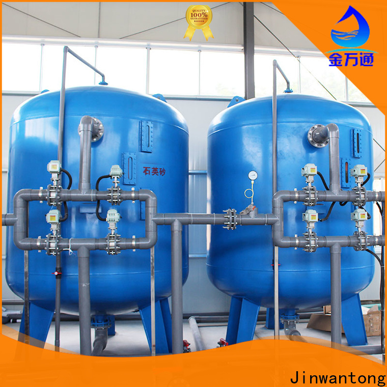 New sand filter design customized for grit removal