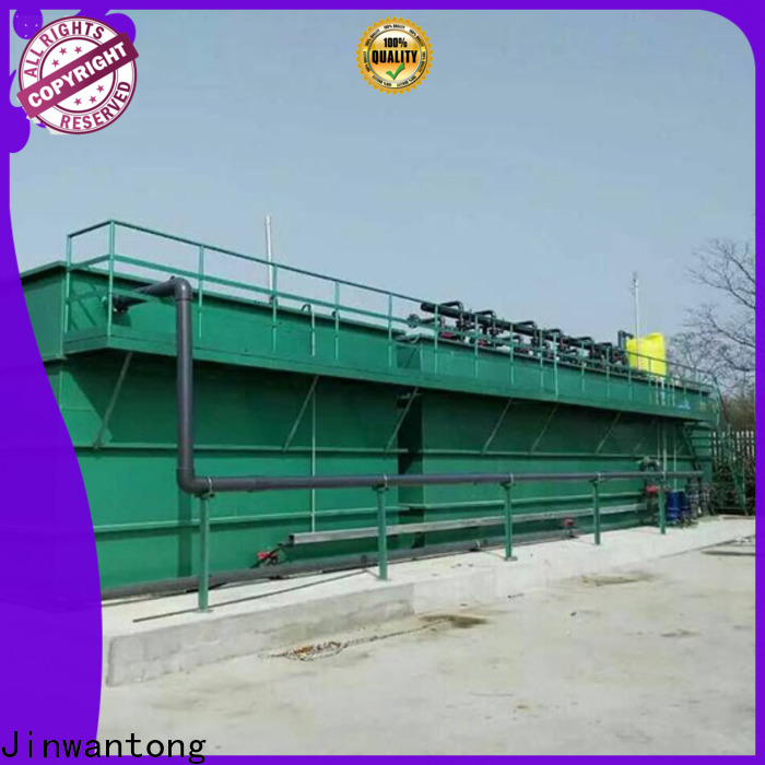 Jinwantong excellent mbr wastewater treatment process flow diagram company for food industry