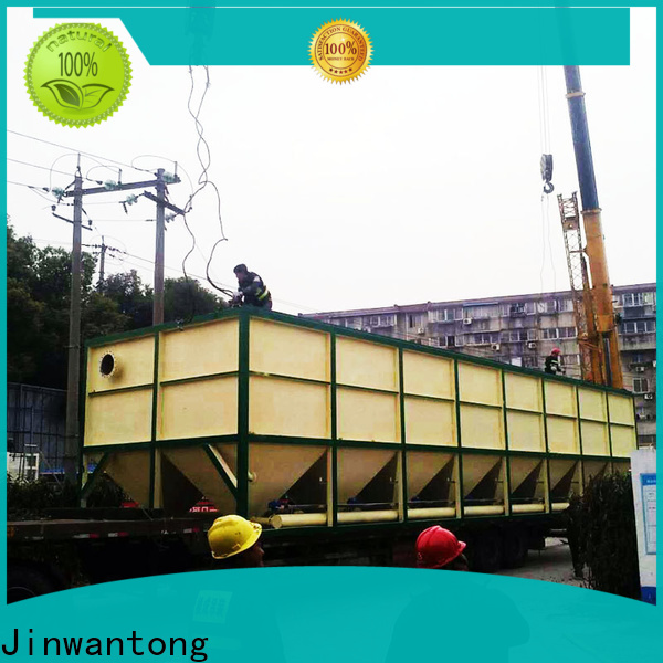 Jinwantong lamella separators wastewater treatment factory price for food industry