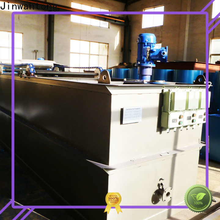Jinwantong industrial wastewater treatment equipment with good price for oil remove