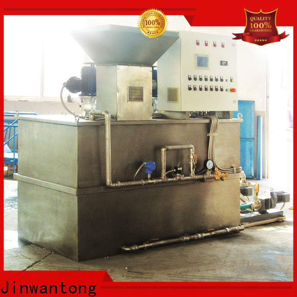 Jinwantong chemical dosing system company for mix water and chemicals