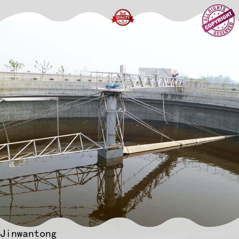 Jinwantong bridge scraper factory for final sedimentation tank