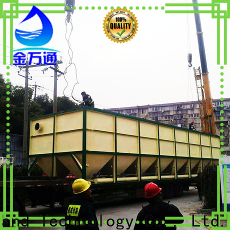 Jinwantong practical settling tank directly sale for chemical waste water