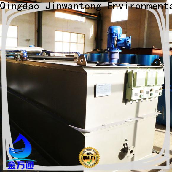 Jinwantong top cavitation air flotation company manufacturers for polishing of biological treatment effluent