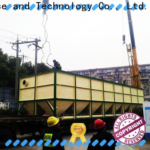 Jinwantong lamella settler design factory price for chemical waste water