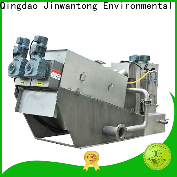Jinwantong dewatering machine for sludge treatment factory for solid-liquid separation
