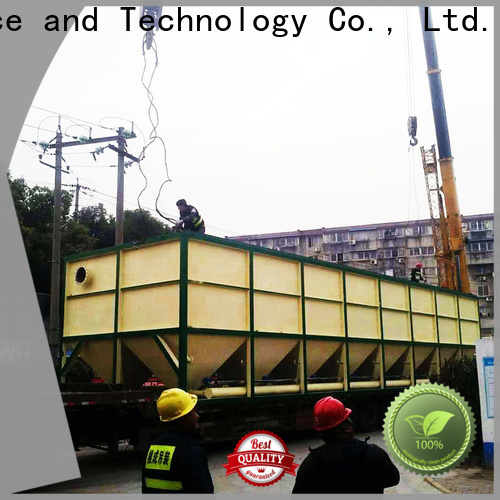 Jinwantong inclined plate clarifier for business for chemical waste water