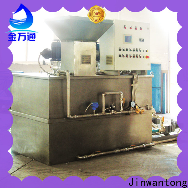 Jinwantong skid mounted chemical dosing system factory for mix water and chemicals