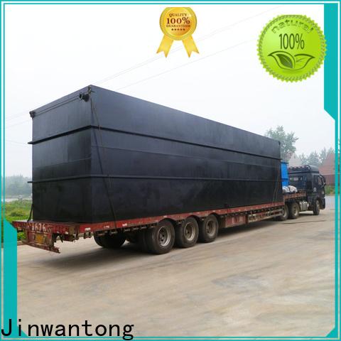 Jinwantong custom best domestic sewage treatment plant company for hotel