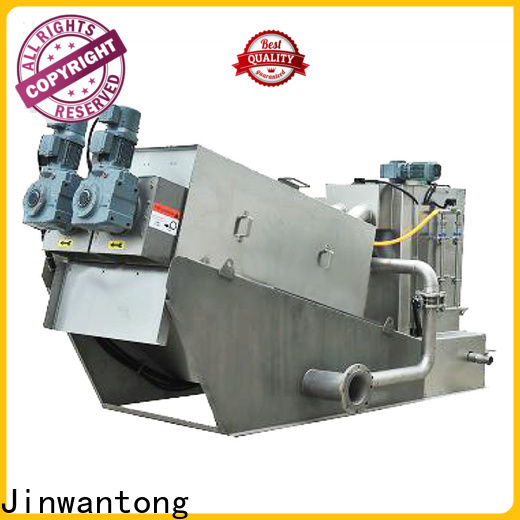 Jinwantong real sludge dewatering machine company for resource recovery