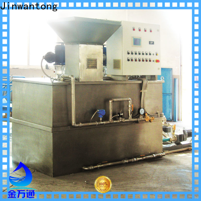 Jinwantong New chemical dosing equipment directly sale for powdered and liquid chemicals