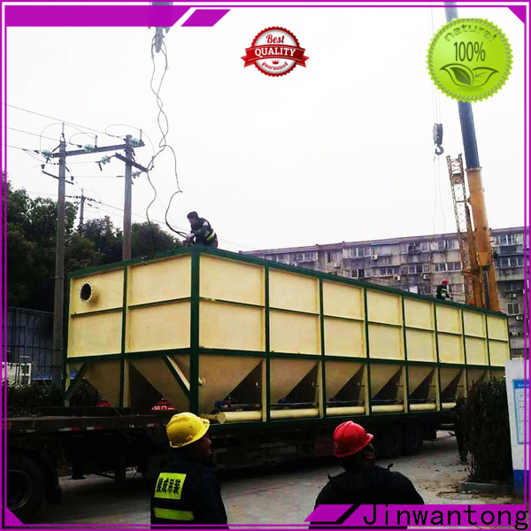 Jinwantong best inclined plate clarifier company for heavy metal remove
