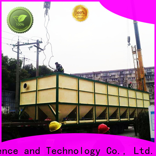 Jinwantong lamella settler design manufacturers for heavy metal remove