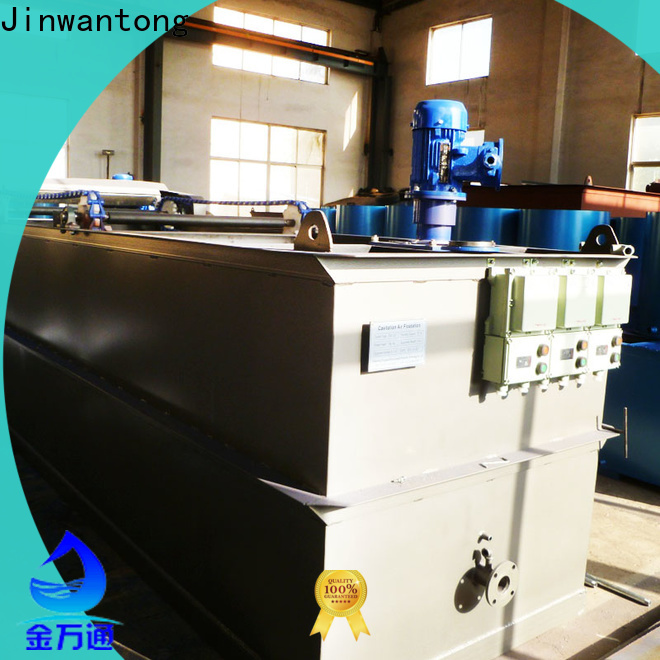 Jinwantong cavitation air flotation plant suppliers for oil remove