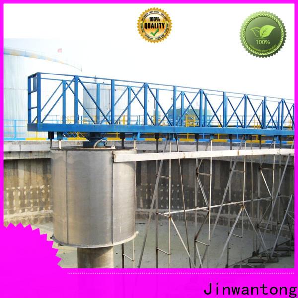 Jinwantong peripheral drive sludge scraper factory for primary clarifier