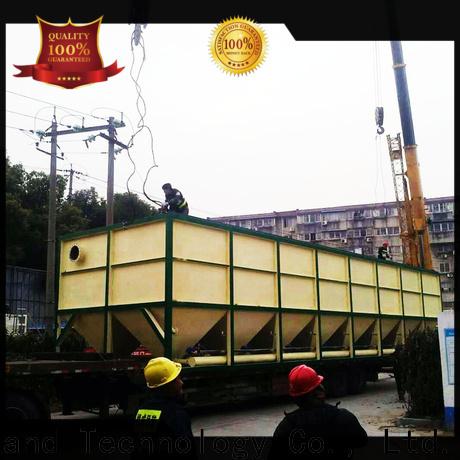 Jinwantong lamella clarifier market factory price for heavy metal remove