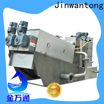 low cost china screw press dewatering machine wholesale for solid-liquid separation